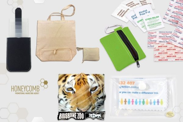 Promotional products for direct mail campaigns