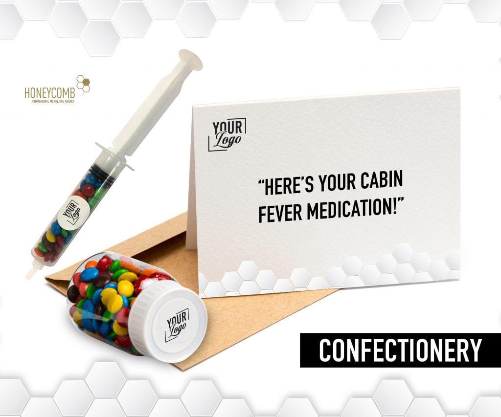 Brnaded confectionery medicine concept